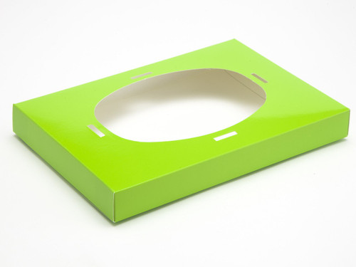Ex Large Easter Green Easter Egg Plinth | Meridian Speciality Packaging