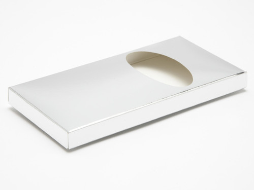 Choc Bar Carton (Wrap) - Bright Silver | MeridianSP