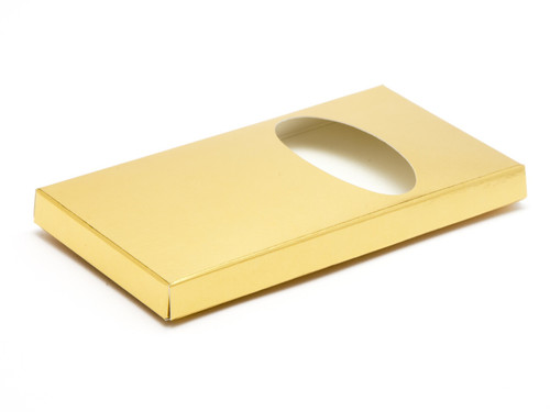 Choc Bar Carton (Wrap) - Bright Gold| MeridianSP