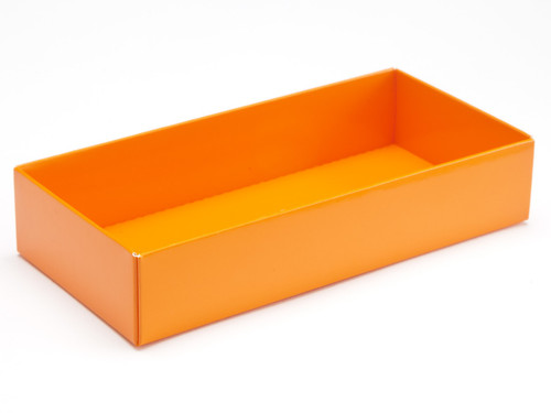 8 choc Base - Orange [BASE ONLY] | Meridian Speciality Packaging