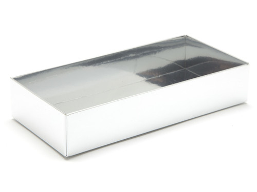 8 Choc Base - Bright Silver [BASE ONLY] | Meridian Speciality Packaging