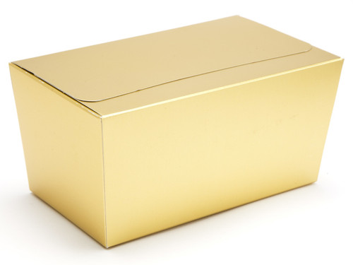 750g Ballotin - Matt Gold | Meridian Speciality Packaging