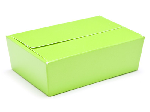 6 Choc Ballotin - Vibrant Green | Meridian Speciality Packaging