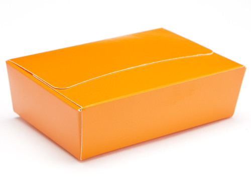 6 Choc Ballotin - Orange | Meridian Speciality Packaging