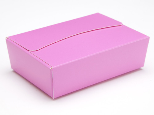 6 Choc Ballotin - Electric Pink | Meridian Speciality Packaging