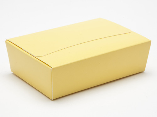 6 Choc Ballotin - Buttermilk Yellow | Meridian Speciality Packaging