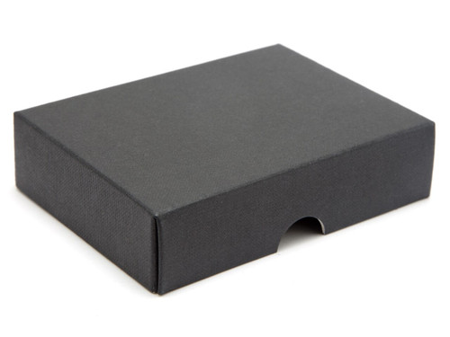 6 Choc Wibalin Lid - Black [LID ONLY] | Meridian Speciality Packaging