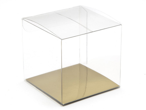 60mm Cube Carton - Clear | MeridianSP