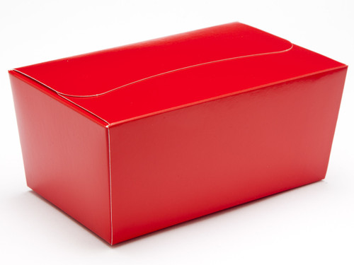 500g Ballotin - Red | Meridian Speciality Packaging