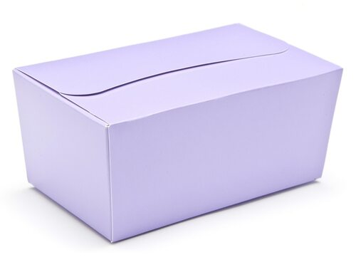 500g Ballotin - Lilac | Meridian Speciality Packaging