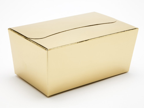500g Ballotin - Bright Gold | Meridian Speciality Packaging