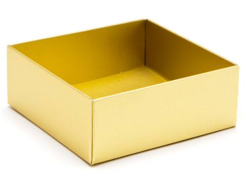 4 Choc Base - Matt Gold [BASE ONLY] | Meridian Speciality Packaging