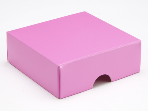 4 Choc Lid - Electric Pink [LID ONLY] | Meridian Speciality Packaging