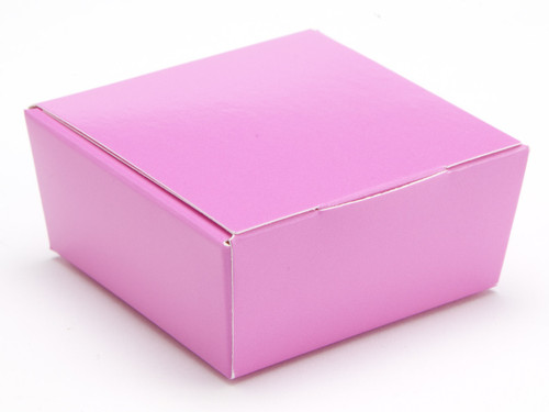4 Choc Ballotin - Electric Pink | Meridian Speciality Packaging