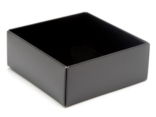 4 Choc Base - Black [BASE ONLY] | Meridian Speciality Packaging