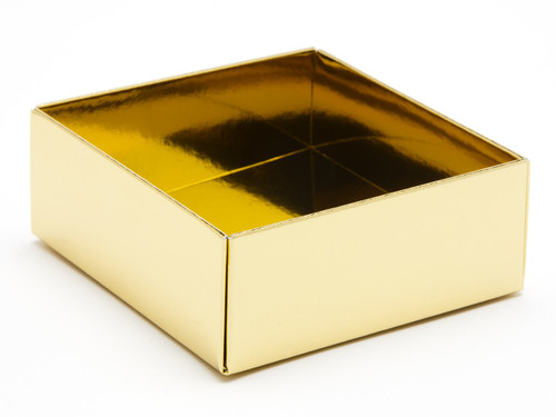 4 Choc Base - Bright Gold [BASE ONLY] | Meridian Speciality Packaging