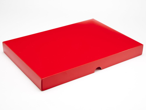 48 Choc Lid - Red [LID ONLY] | Meridian Speciality Packaging