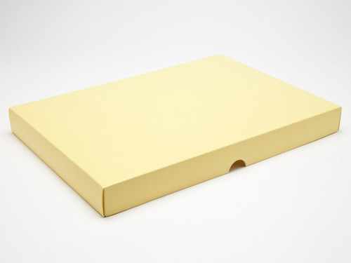 48 Choc Lid - Buttermilk Yellow [LID ONLY] | Meridian Speciality Packaging