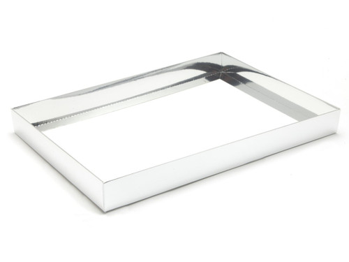48 Choc Base - Bright Silver [BASE ONLY] | Meridian Speciality Packaging