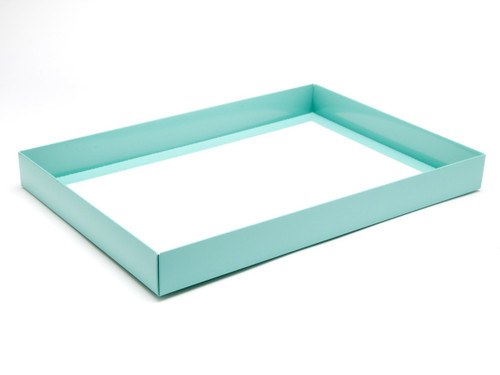 48 Choc Base - Aqua [BASE ONLY] | Meridian Speciality Packaging