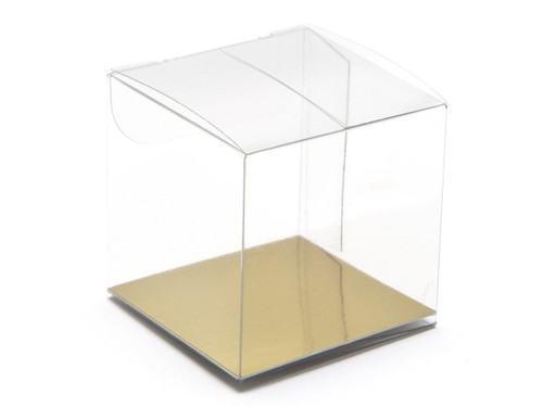 45x40x45 Rectangular Transparent Carton - Clear | MeridianSP