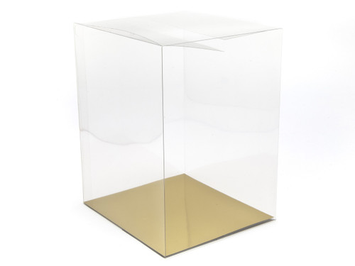 38mm Transparent Cube Carton - Clear | MeridianSP