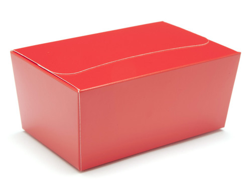 375g Ballotin - Red | Meridian Speciality Packaging