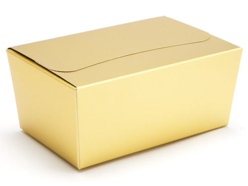 375g Ballotin - Matt Gold | Meridian Speciality Packaging