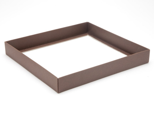 36 Choc Square Choc. Brown Wibalin Base [BASE ONLY] | Meridian Speciality Packaging
