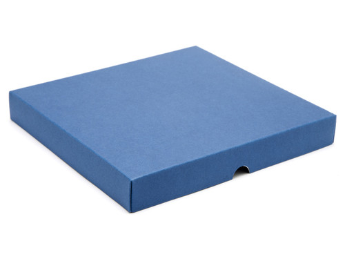 36 Choc Square Wibalin Lid - Blue - [LID ONLY] | MeridianSP