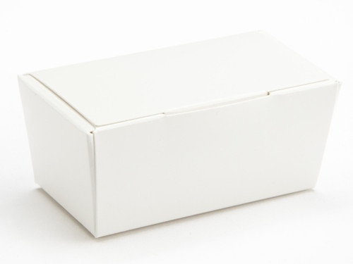 2 Choc Ballotin - White | Meridian Speciality Packaging