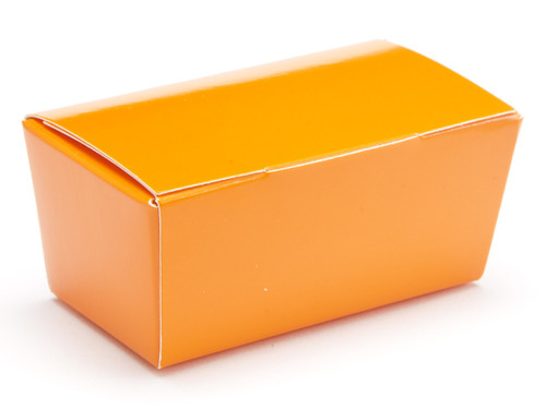2 Choc Ballotin - Orange | Meridian Speciality Packaging