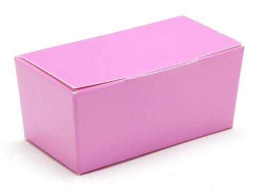 2 Choc Ballotin - Electric Pink | Meridian Speciality Packaging