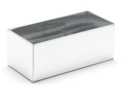 2 Choc Base - Bright Silver [BASE ONLY] | Meridian Speciality Packaging