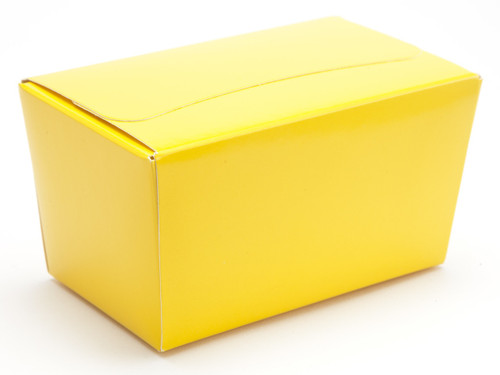 250g Ballotin - Sunshine Yellow | Meridian Speciality Packaging
