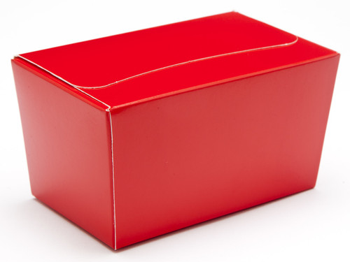 250g Ballotin - Red | Meridian Speciality Packaging