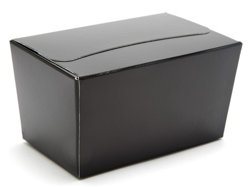 250g Ballotin - Black | Meridian Speciality Packaging