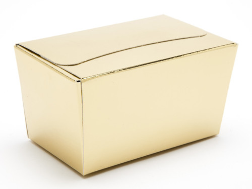 250g Ballotin - Bright Gold | Meridian Speciality Packaging