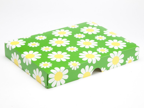 24 Choc Daisy Floral Lid [LID ONLY] | Meridian Speciality Packaging