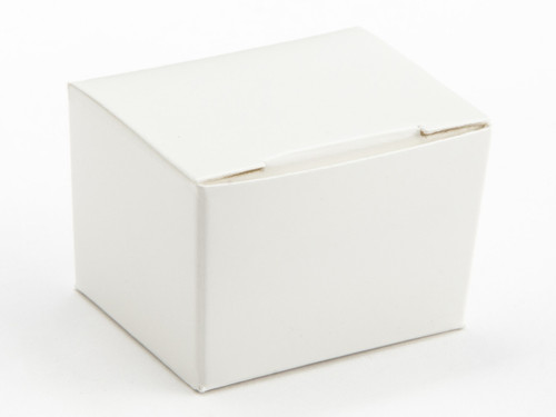 1 Choc Ballotin - White | Meridian Speciality Packaging