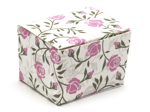 1 Choc Ballotin - Rose Floral | Meridian Speciality Packaging