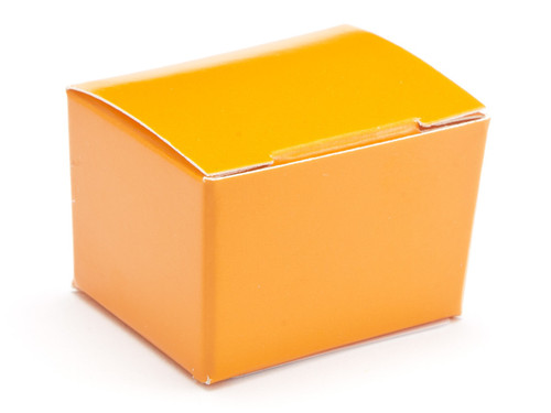 1 Choc Ballotin - Orange | Meridian Speciality Packaging