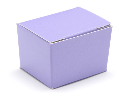 1 Choc Ballotin - Lilac | Meridian Speciality Packaging