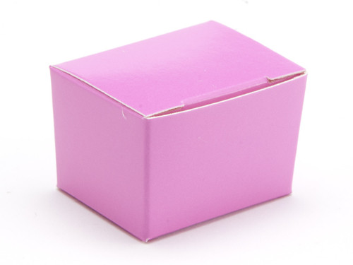 1 Choc Ballotin - Electric Pink | Meridian Speciality Packaging