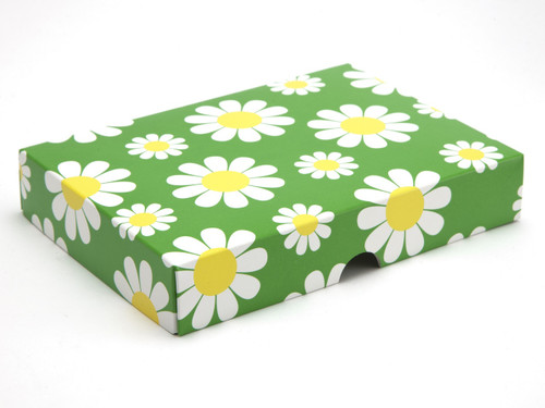 12 Choc Daisy Floral Lid [LID ONLY] | Meridian Speciality Packaging