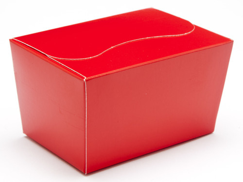 125g Ballotin - Red | Meridian Speciality Packaging