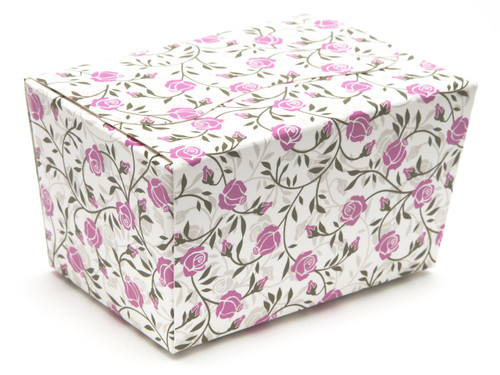125g Ballotin - Rose Floral   Meridian Speciality Packaging