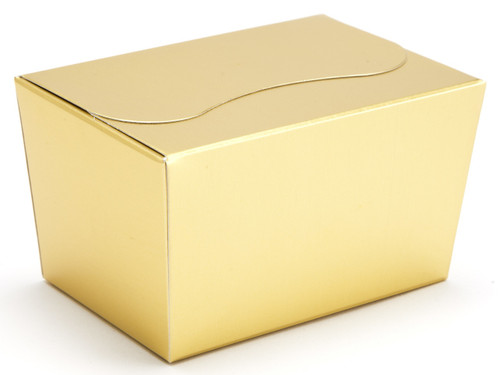 125g Ballotin - Matt Gold | Meridian Speciality Packaging