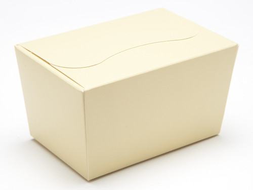 125g Ballotin - Cream | Meridian Speciality Packaging