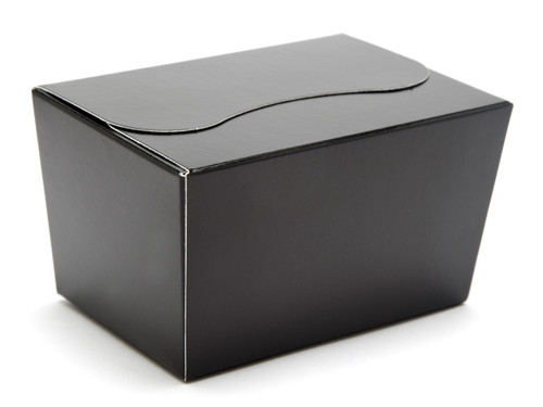 125g Ballotin - Black | Meridian Speciality Packaging